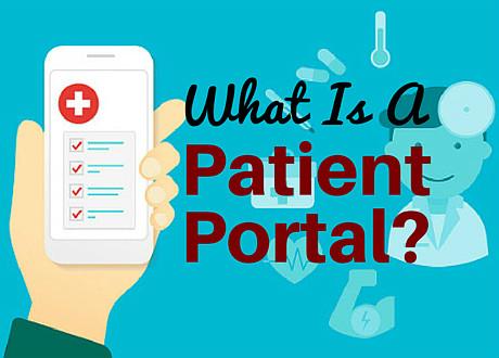 patient portal vendors about online patient portals