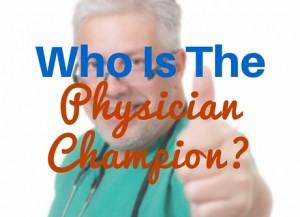 physician-champion
