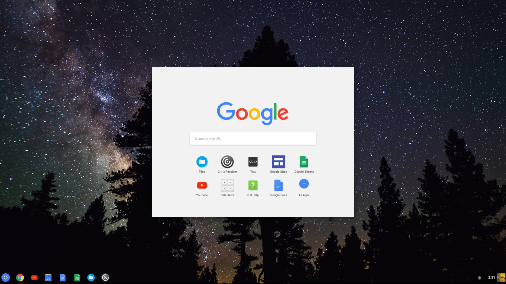 chromebox desktop
